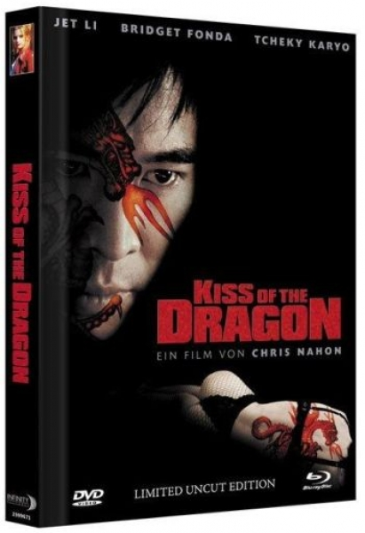 Kiss of the Dragon - Limited Mediabook Edition  (DVD+blu-ray) (A)