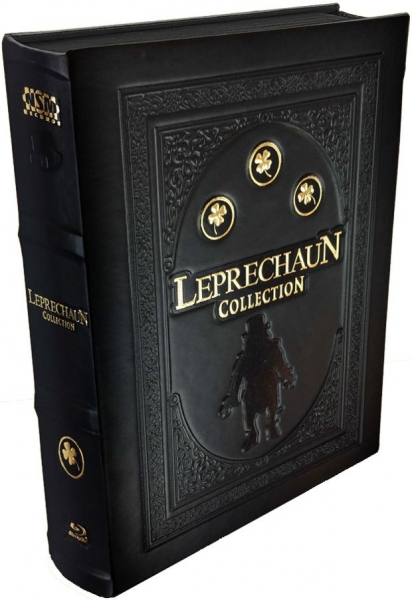 Leprechaun 1-4 & Leprechaun: Origins - Uncut Leatherbook Edition  (blu-ray)