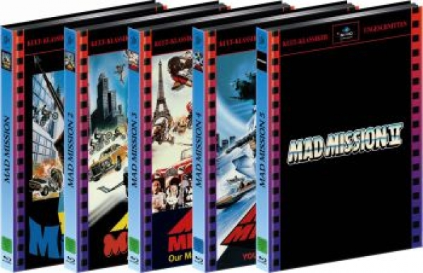 Mad Mission 1-5 - The Mediabook Edition (DVD+blu-ray)