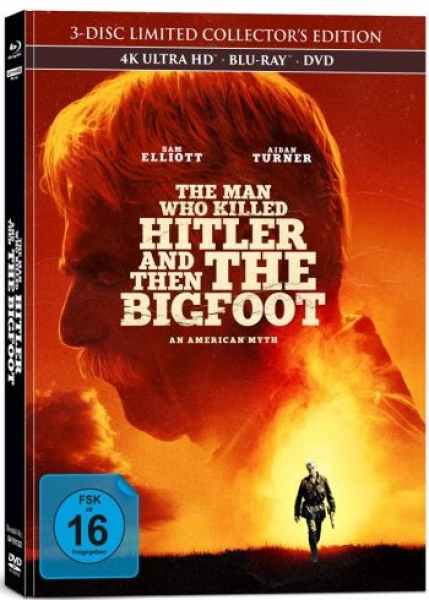 Man Who Killed Hitler and Then The Bigfoot, The - Limited Mediabook Edition (DVD+blu-ray+4K Ultra HD)