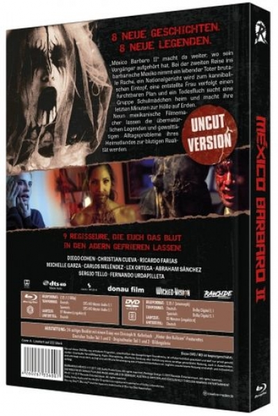 Mexico Barbaro 2 - Uncut Mediabook Edition  (DVD+blu-ray) (A)