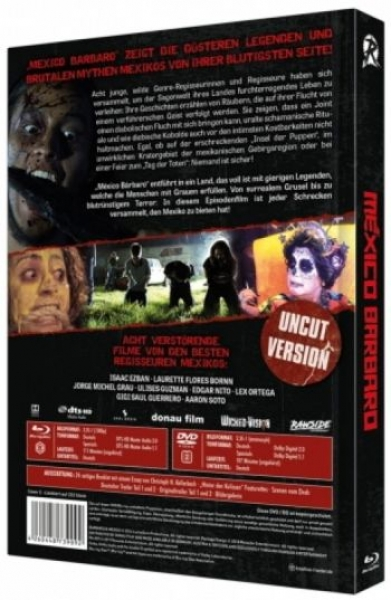 Mexico Barbaro - Uncut Mediabook Edition  (DVD+blu-ray) (C)