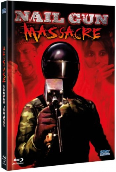 Nail Gun Massacre, The - Uncut Mediabook Edition (blu-ray) (A)