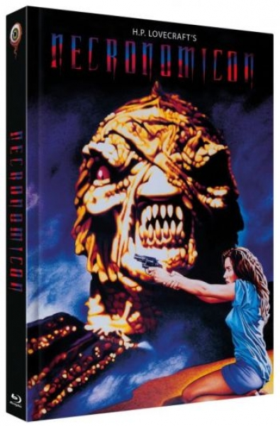 H.P. Lovecrafts Necronomicon - Uncut Mediabook Edition  (DVD+blu-ray) (A)