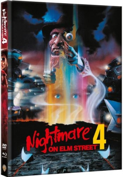 Nightmare on Elm Street 4 - Uncut Mediabook Edition  (DVD+blu-ray)