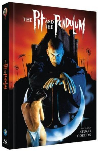 Pit and the Pendelum, The - Uncut Mediabook Edition  (blu-ray) (A)