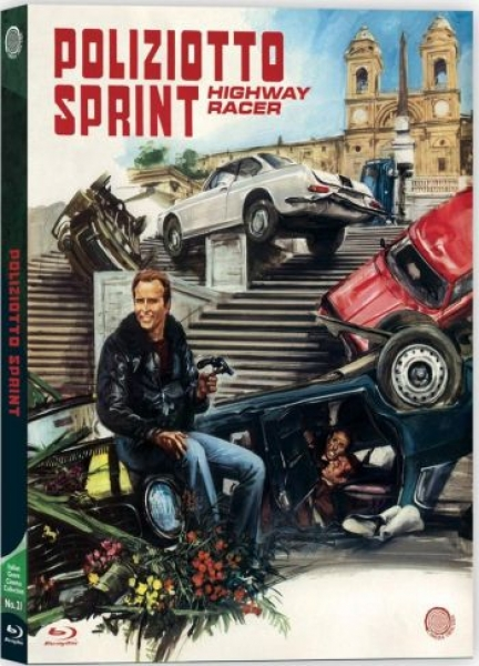 Poliziotto Sprint - Highway Racer - Uncut Edition (blu-ray)