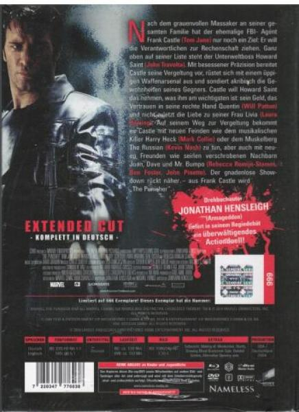Punisher, The (2004) - Extended Mediabook Edition  (DVD+blu-ray) (Cover F)