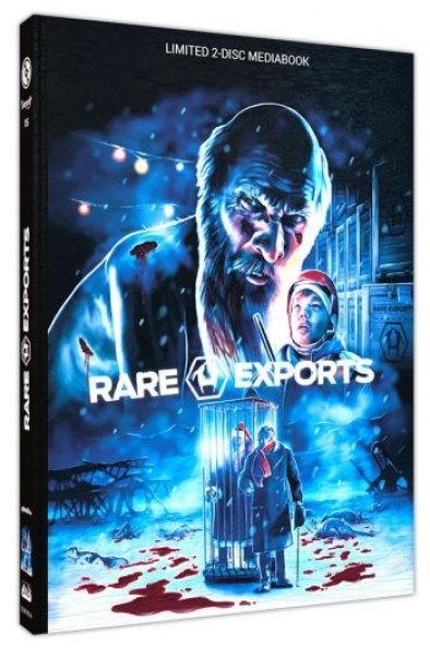 Rare Exports - Uncut Mediabook Edition  (DVD+blu-ray) (A)