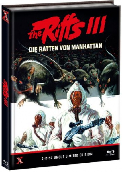 Riffs 3, The - Die Ratten von Manhattan - Uncut Mediabook Edition  (DVD+blu-ray) (B)