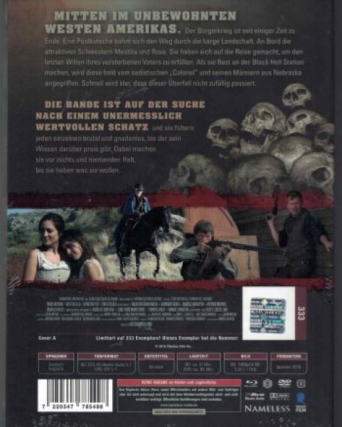 Road to Hell - Uncut Mediabook Edition (DVD+blu-ray) (Cover Red)