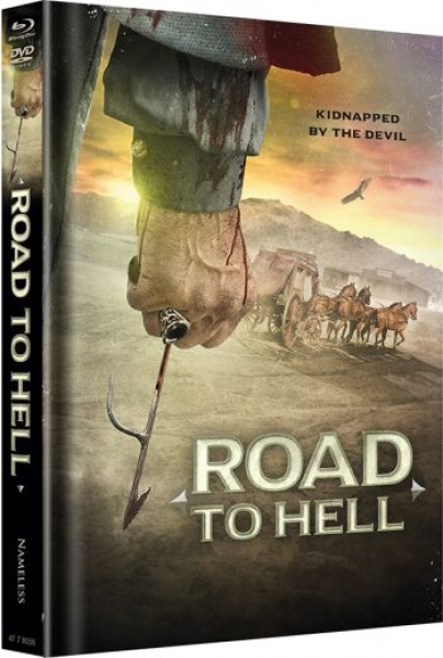 Road to Hell - Uncut Mediabook Edition  (DVD+blu-ray) (Cover Color)