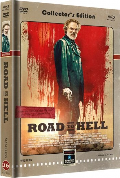 Road to Hell - Uncut Mediabook Edition  (DVD+blu-ray) (Cover Retro)
