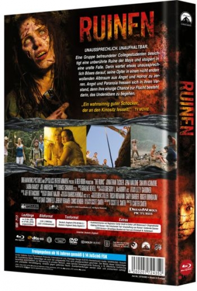Ruinen - Limited Mediabook Edition  (DVD+blu-ray) (D)