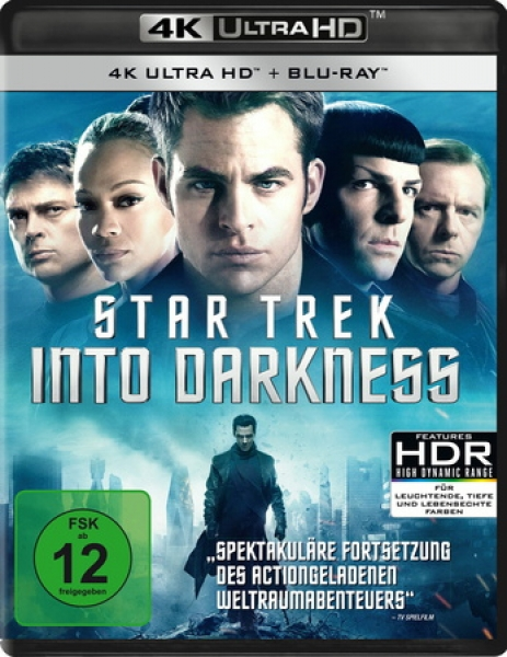 Star Trek 12 - Into Darkness  (4K Ultra HD)