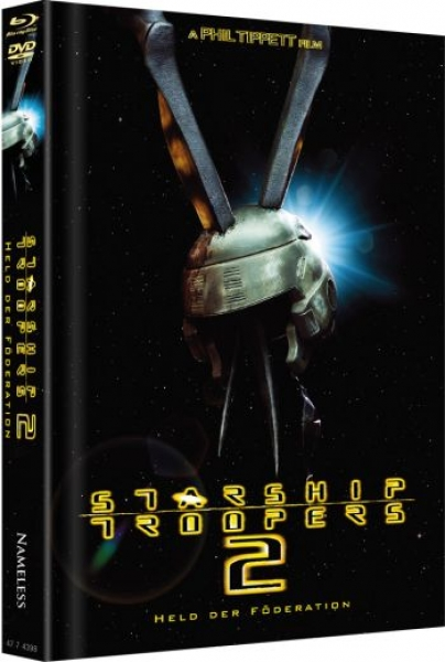 Starship Troopers 2: Held der Föderation  - Uncut Mediabook Edition  (DVD+blu-ray) (A)