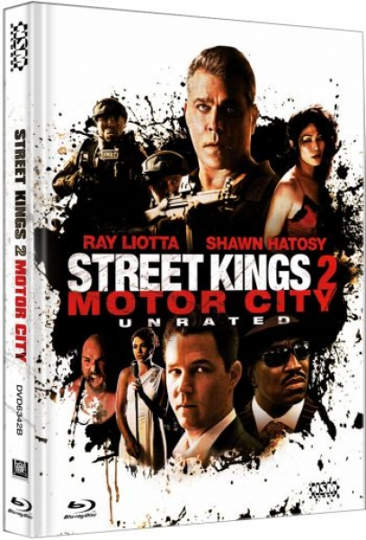 Street Kings 2 - Motor City - Uncut Mediabook Edition  (DVD+blu-ray) (B)