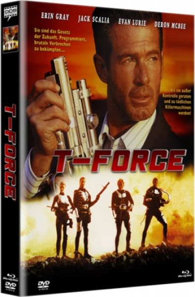 T-Force - Uncut Mediabook Edition  (DVD+blu-ray) (A)