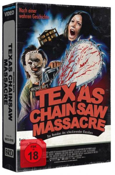 Texas Chainsaw Massacre - Michael Bay - Uncut VHS Design Edition  (blu-ray) (A)