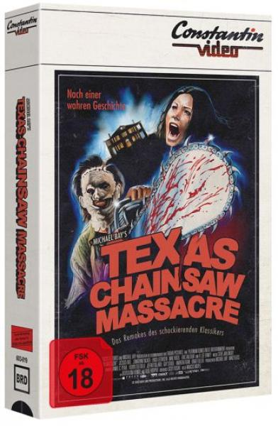 Texas Chainsaw Massacre - Michael Bay - Uncut VHS Design Edition  (blu-ray) (B)