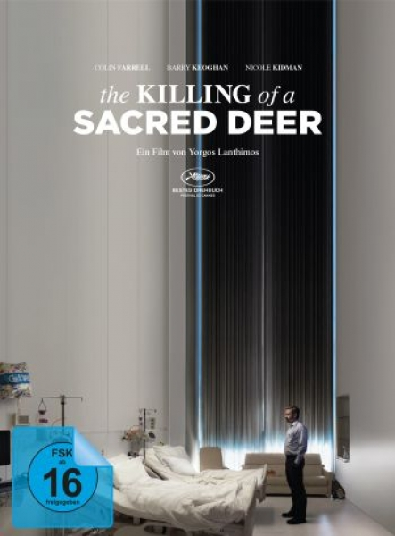 Killing of a Sacred Deer, The - Limited Mediabook Edition (DVD+blu-ray)
