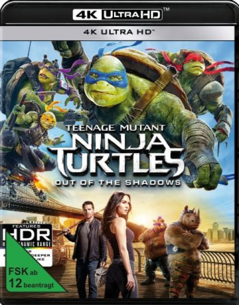 Teenage Mutant Ninja Turtles: Out of the Shadows (4K Ultra HD)