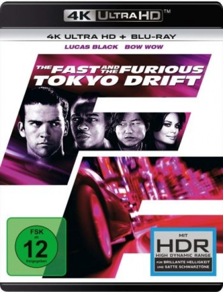 Fast and the Furious, The: Tokyo Drift (4K Ultra HD)