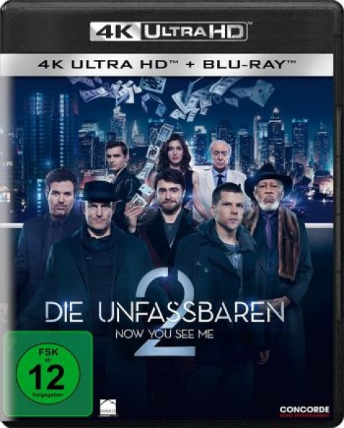 Unfassbaren 2, Die - Now You See Me  (4K Ultra HD)