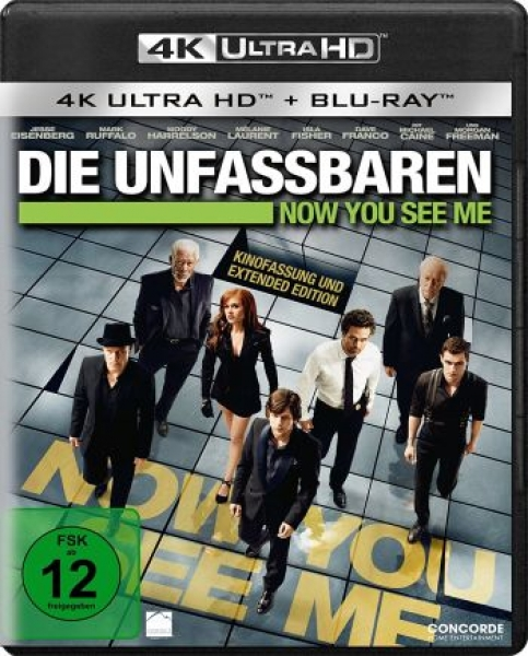 Unfassbaren, Die - Now You See Me - Extended Edition  (4K Ultra HD)