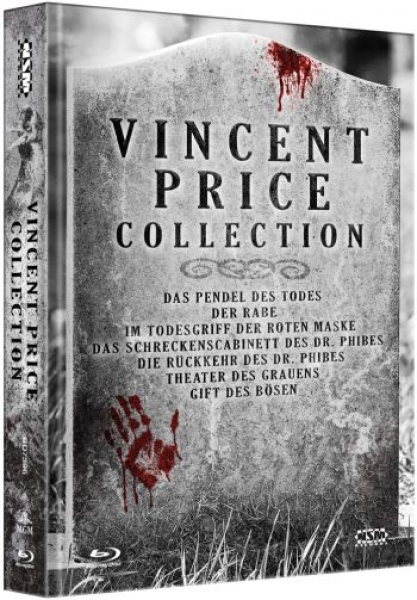 Vincent Price Collection - Uncut Mediabook Edition (blu-ray)